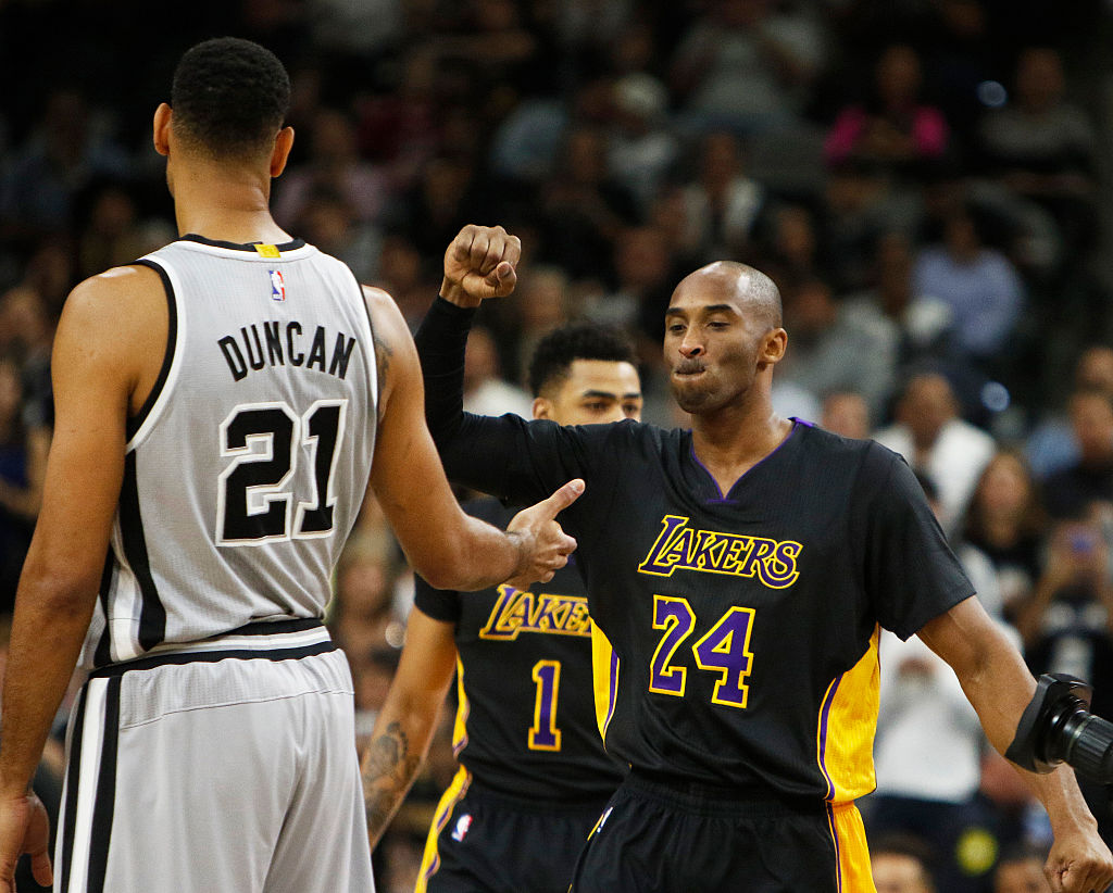 Tim Duncan was a dominant force for the Spurs who still took the time to teach his opponents how to beat him during NBA games.