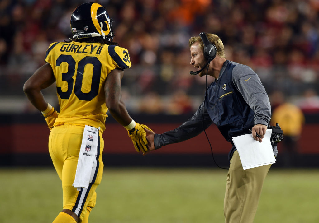 Sean McVay Says 'A Lot' Went into Cutting Todd Gurley