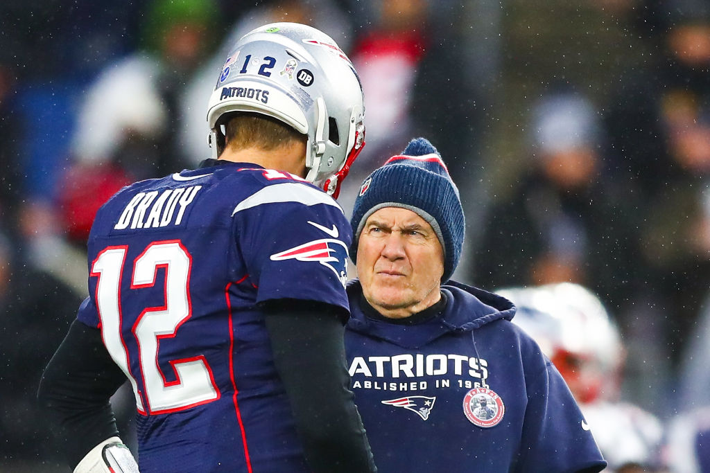 Tom Brady did not take a shot at Bill Belichick despite much speculation about the former Patriots quarterback.