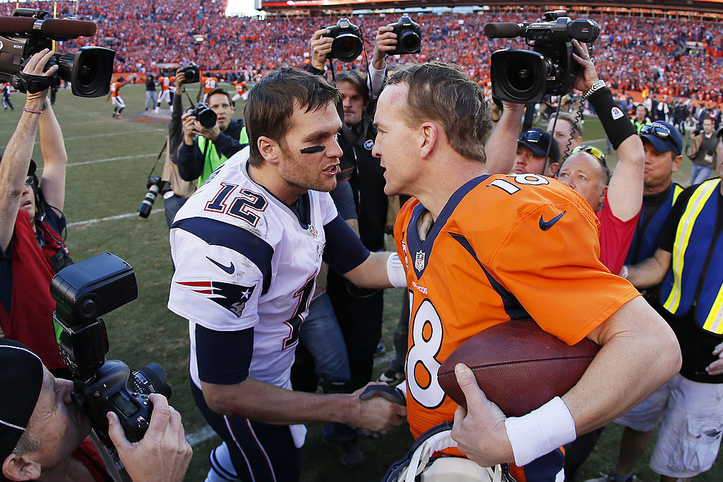 Tom Brady and Peyton Manning are Hall of Fame quarterbacks, but what were their worst games in the NFL?