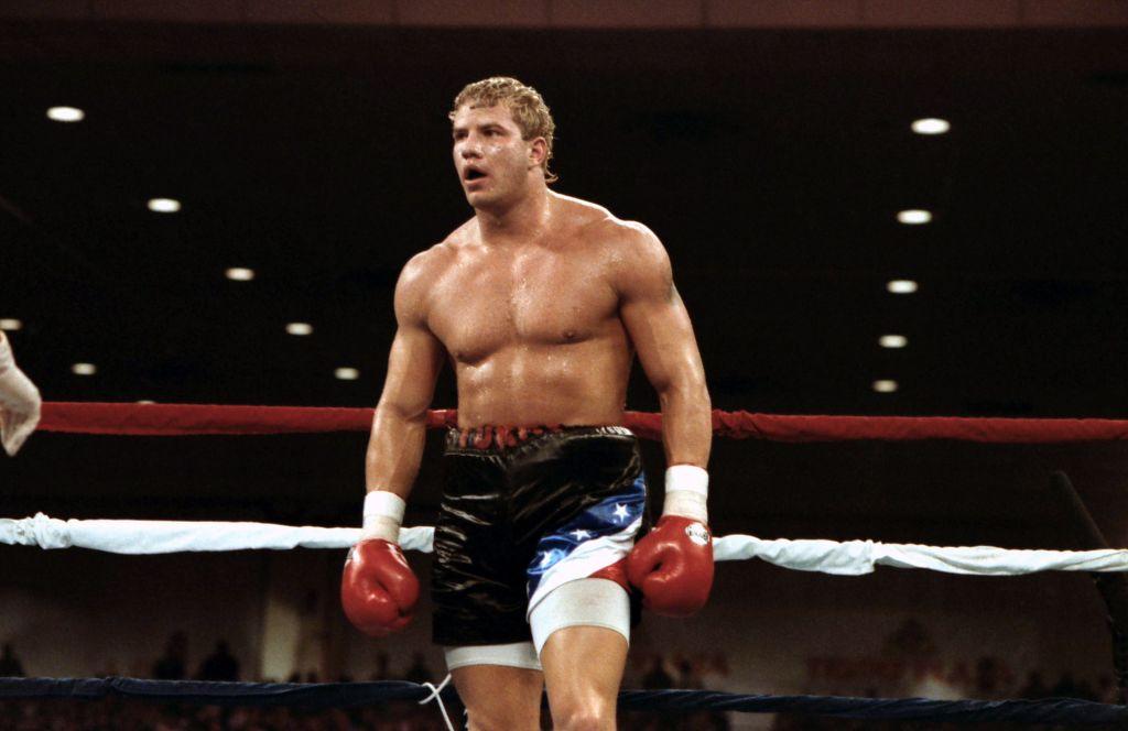Boxer Tommy Morrison