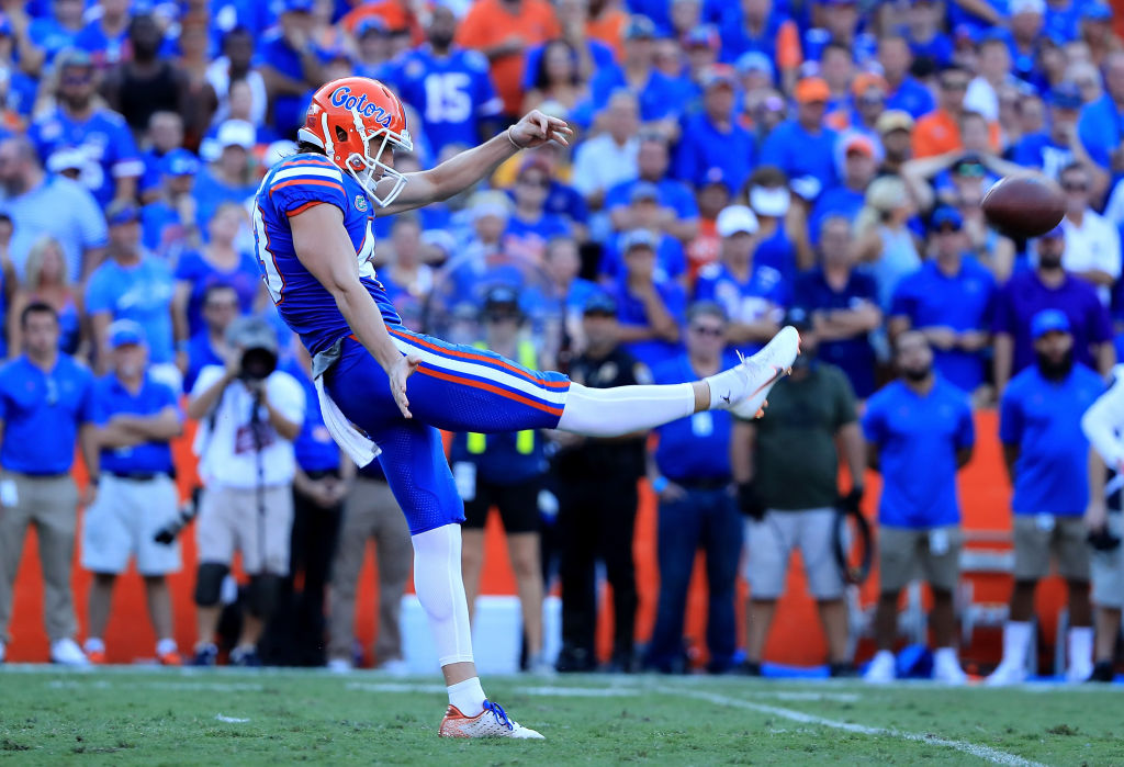 Florida Gators punter Tommy Townsend signed with the Kansas City Chiefs as an undrafted free agent.