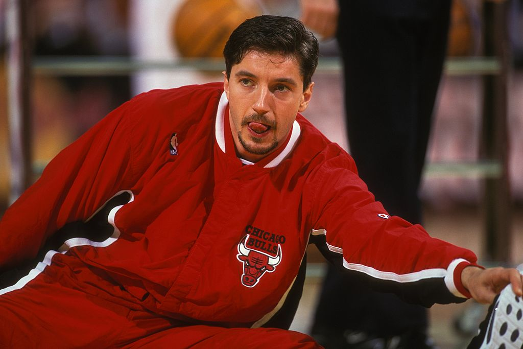 Toni Kukoc apparently ate some massive meals before hitting the court with the Chicago Bulls.
