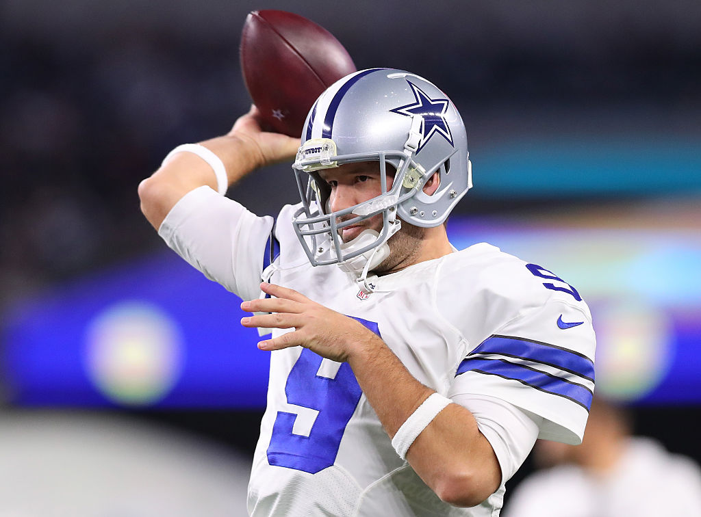 Former Dallas Cowboys quarterback Tony Romo