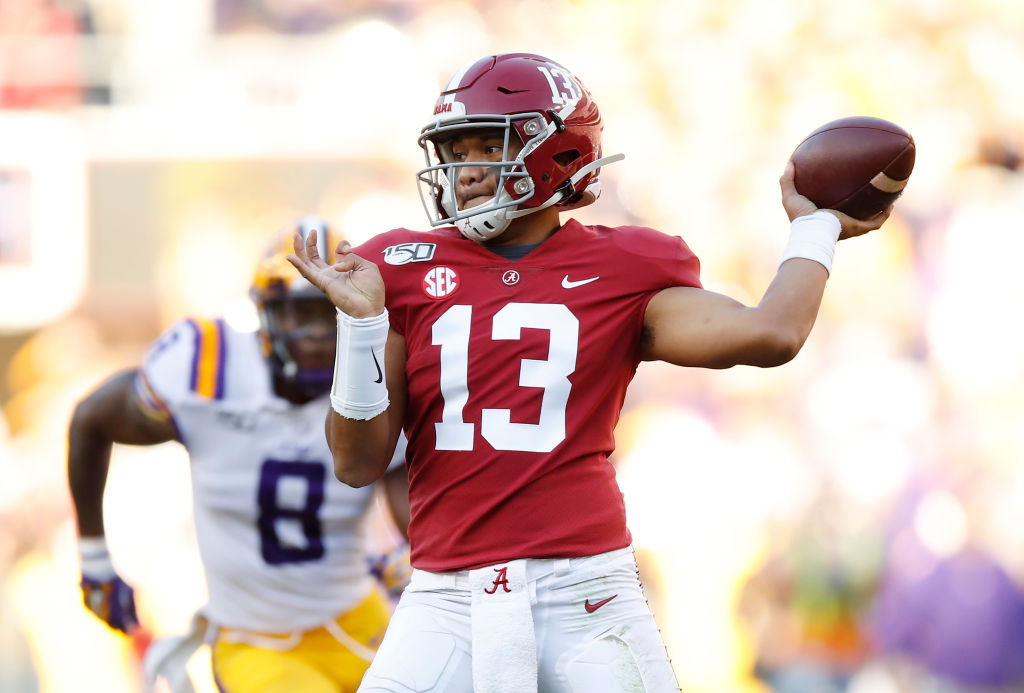 Patriots coach Bill Belichick could find his next quarterback in the 2020 NFL draft by going after Alabama star Tua Tagovailoa.