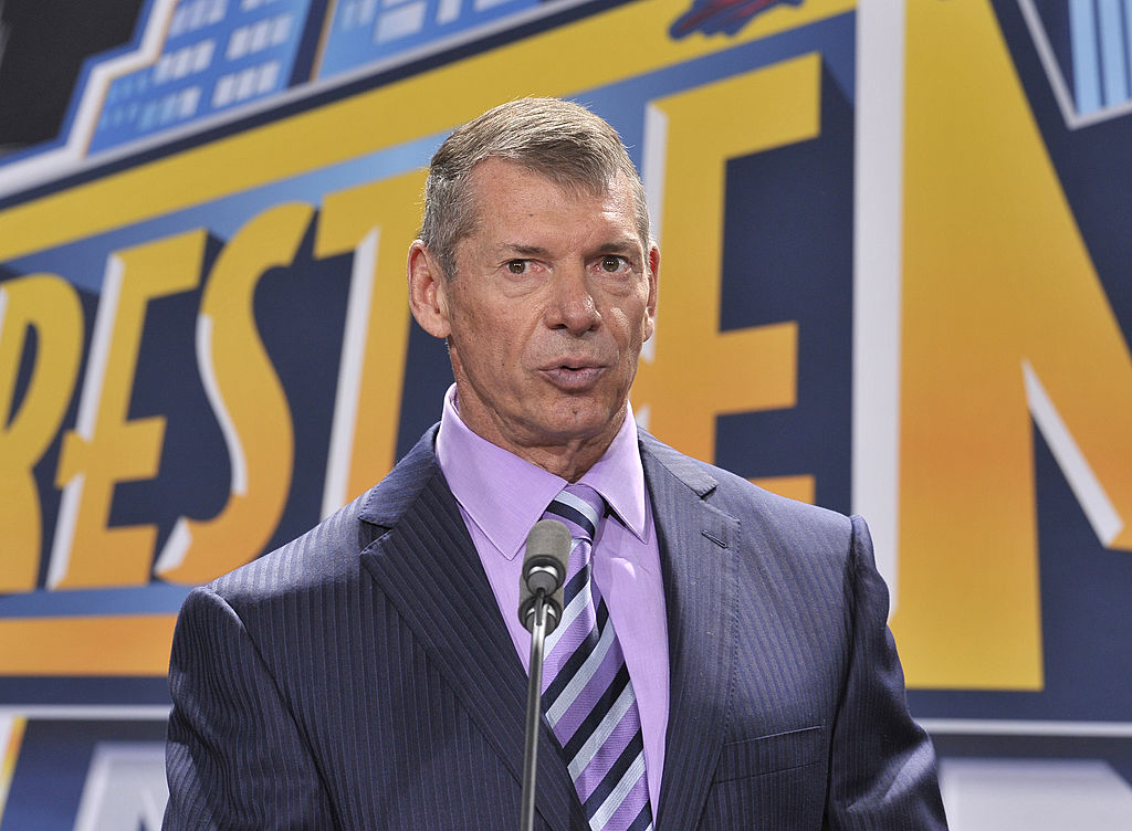WWE owner Vince McMahon