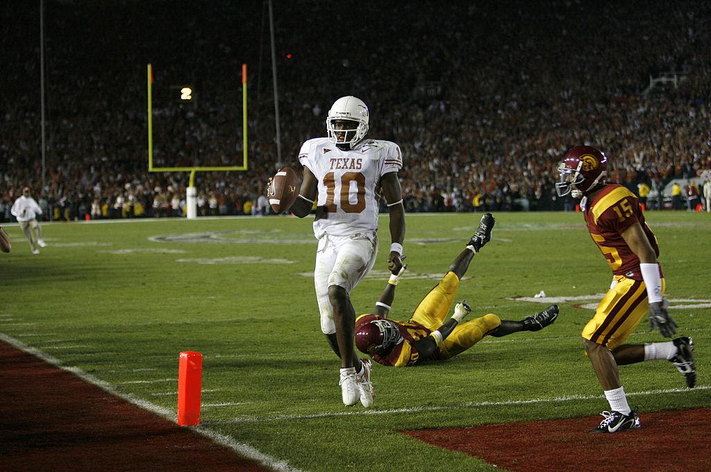 Texas vs. USC Rose Bowl 2006