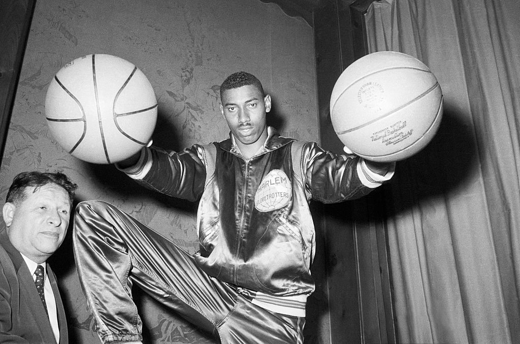 Wilt Chamberlain was so dominant that he earned $65,000 before ever playing in the NBA.
