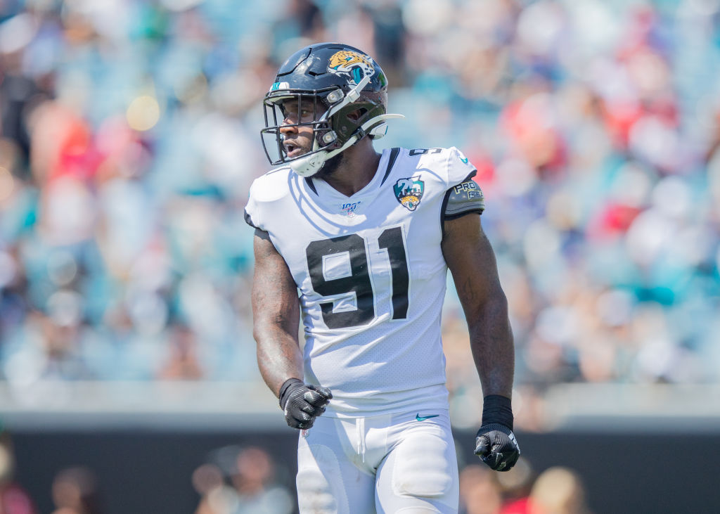 Jacksonville Jaguars end Yannick Ngakoue wants out of Florida.
