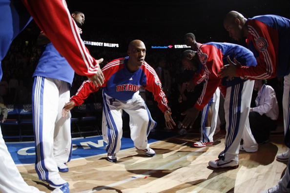 Chauncey Billups was a member of the 2004 NBA champs, Detroit Pistons