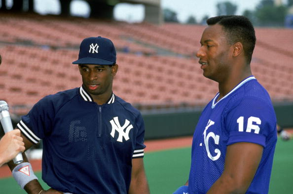 Deion Sanders and Bo Jackson
