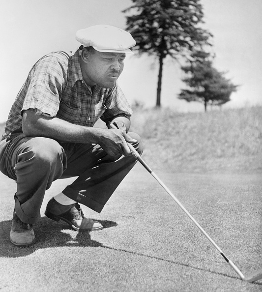 Joe Louis a golfer