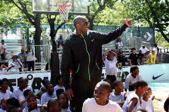 Kobe Bryant at Rucker Park