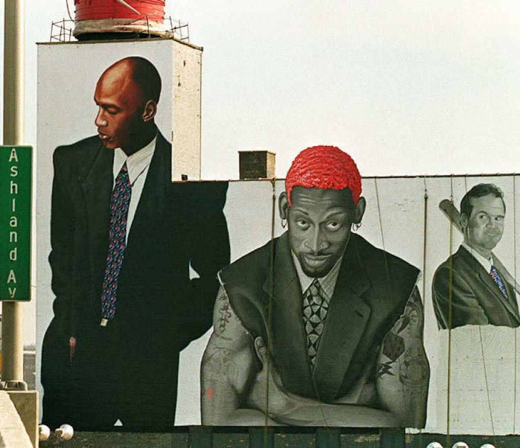 Dennis Rodman mural