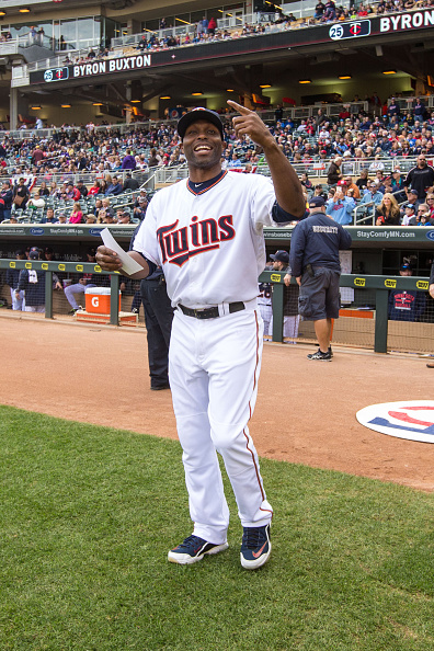 Torii Hunter retired as a member of the Twins