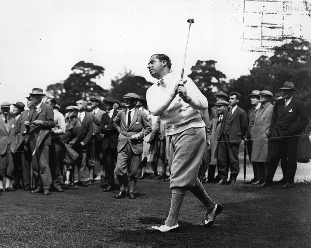 Walter Hagen | Central Press/Getty Images