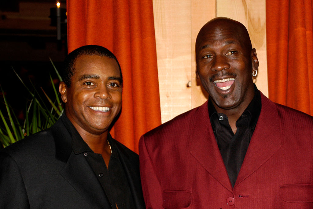 Ahmad Rashad was a good football player. He was then a successful sportscaster and followed Michael Jordan. He is now worth a lot of money.