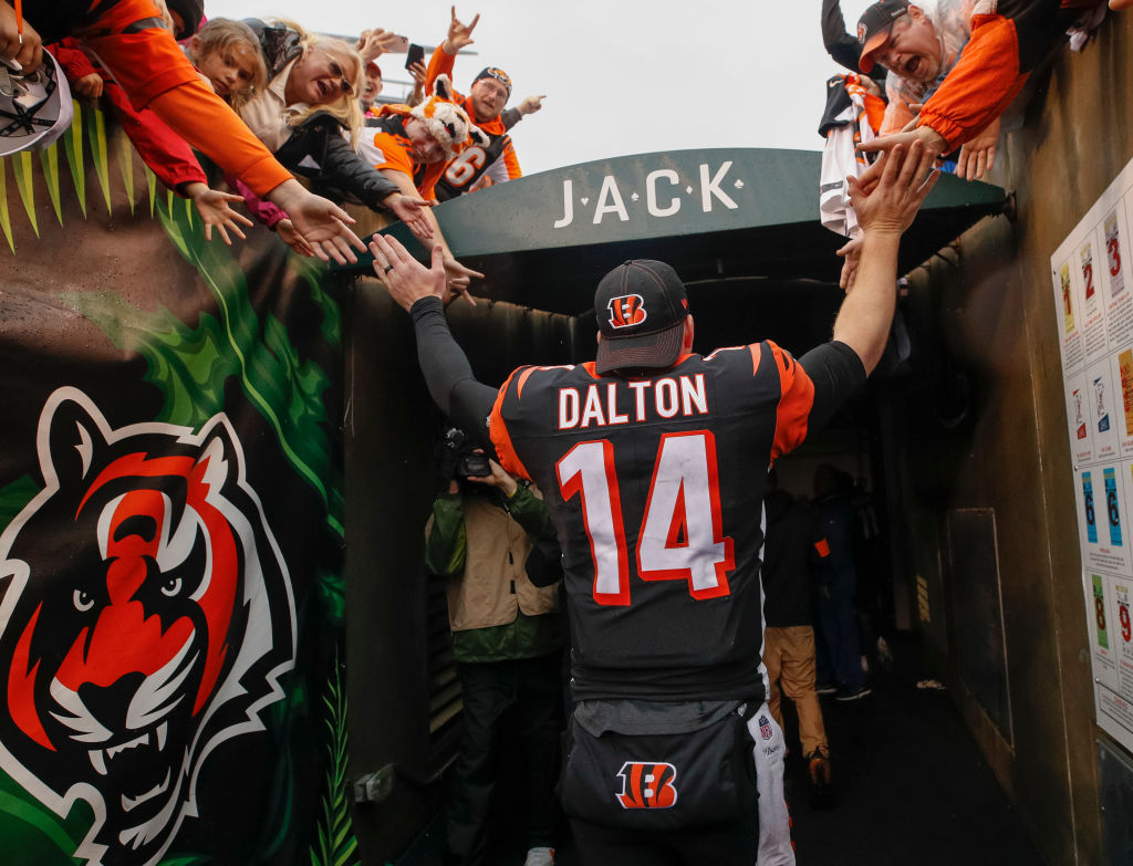 Andy Dalton did not win one playoff game with the Cincinnati Bengals. He, however, still leaves the team and the city as a hero.