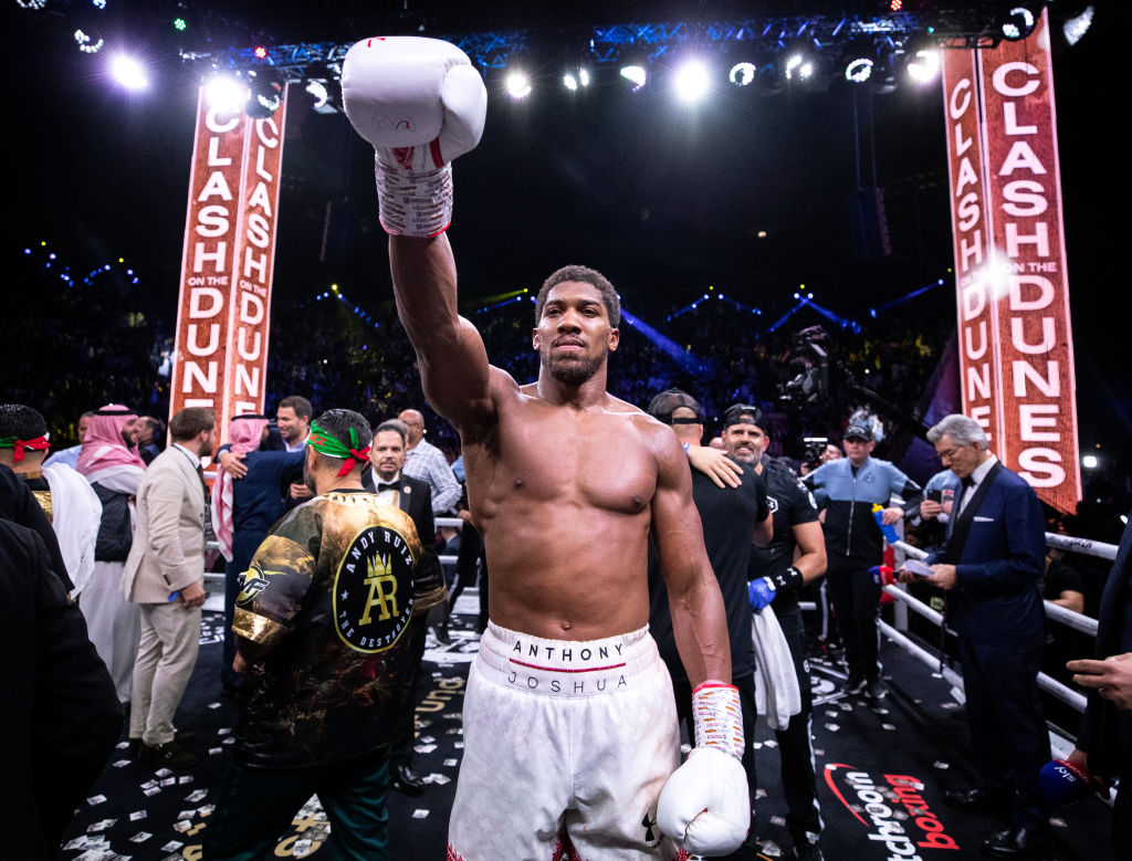 Anthony Joshua Won't Fight Mike Tyson Because of Fans