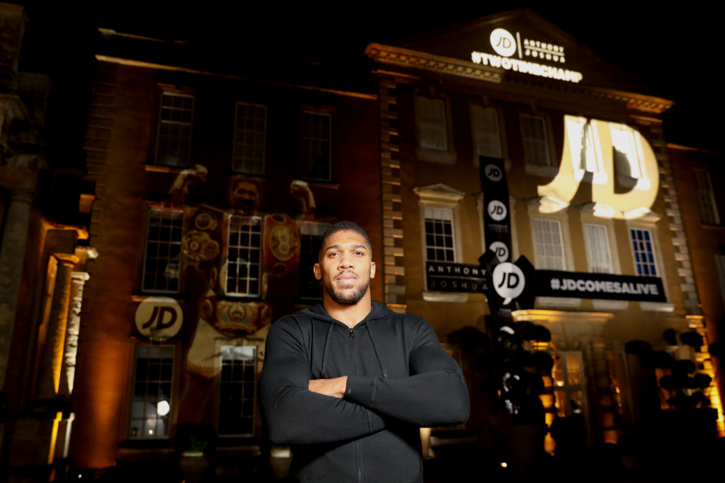 Anthony Joshua attends a 2019 event