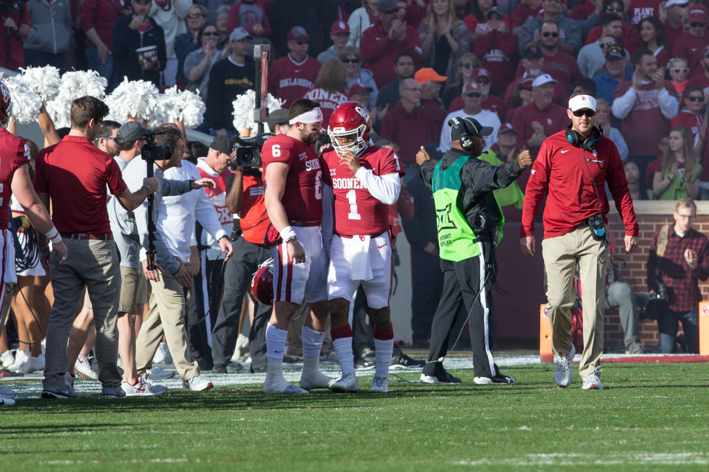 Baker Mayfield, Kyler Murray and Jalen Hurts can thank Lincoln Riley for turning them into rich NFL quarterbacks.