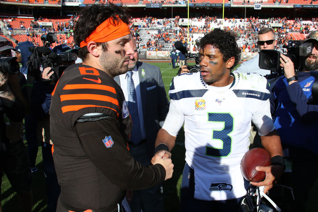 The Worst NFL Rumor You Shouldn't Believe Involves Russell Wilson and Baker Mayfield