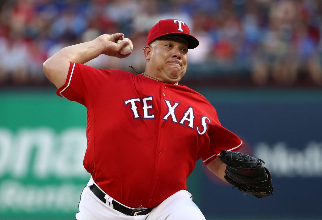 Longtime MLB pitcher Bartolo Colon last played for the 2018 Texas Rangers. Colon wants to pitch again.