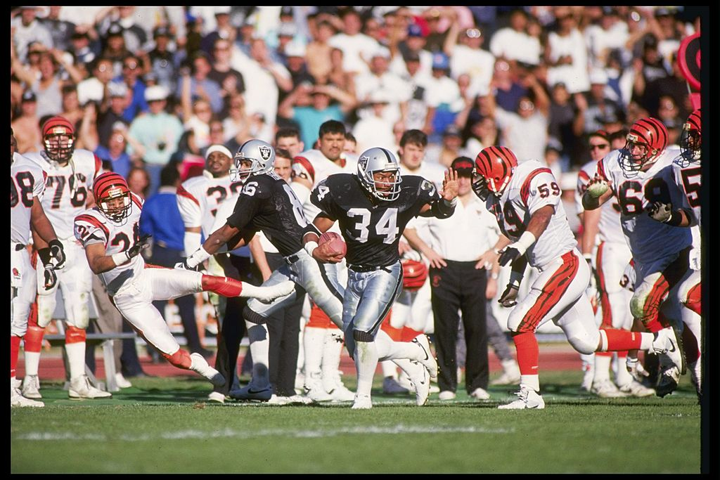 Bo Jackson Said His Hip Injury Prevented Raiders Fans From Hating Him