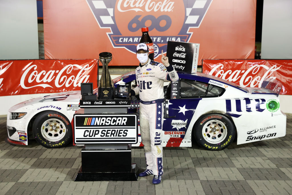As a teenager, Brad Keselowski made $20 a day; now he's worth; now he's worth $45 million.