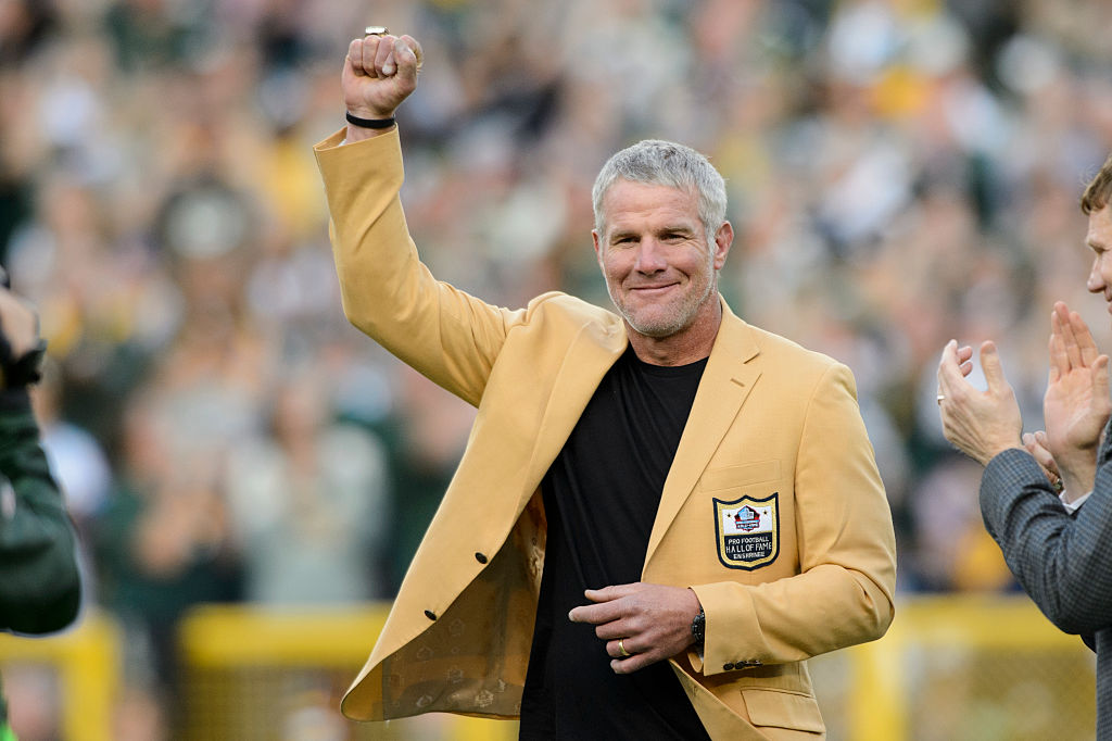 Hall of Famer Brett Favre