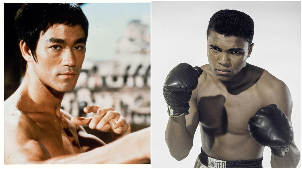 Bruce Lee Muhammad Ali