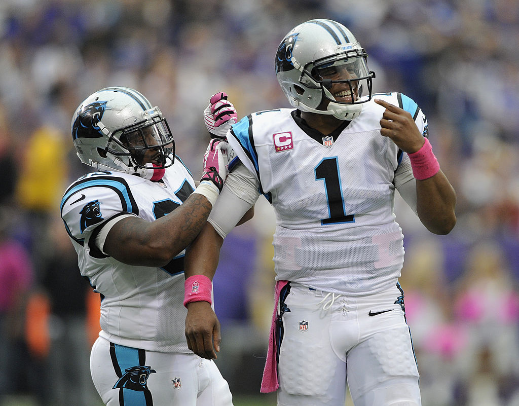 Mike Tolbert blasted the Carolina Panthers organization for mismanaging Cam Newton.