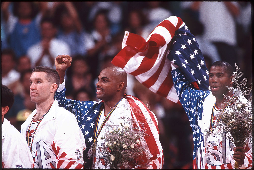 Even as a member of the Dream Team, Charles Barkley loved to hit the local bar.