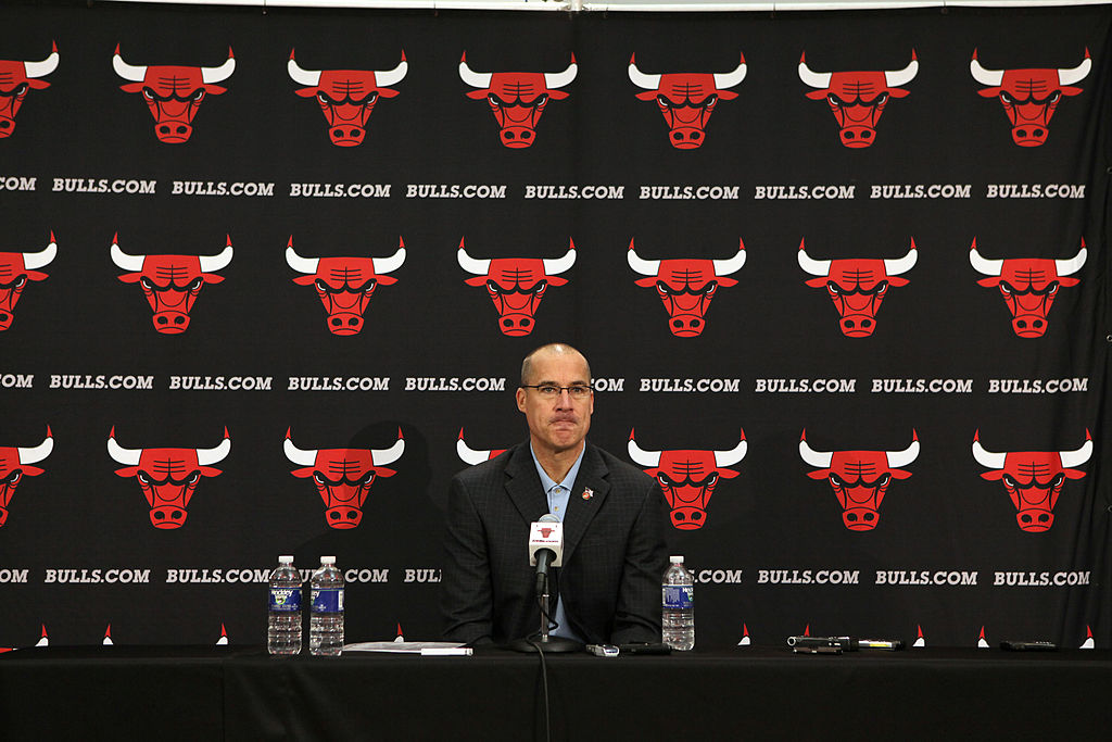 Chicago Bulls Executive Vice President for Operations John Paxson in 2010