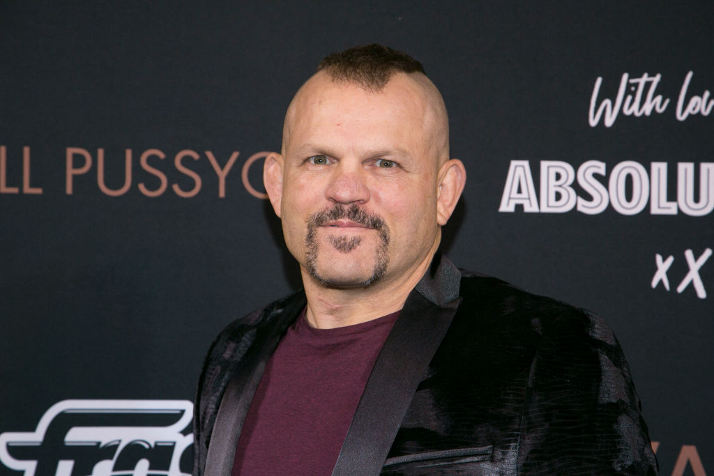Former UFC heavyweight champion Chuck Liddell
