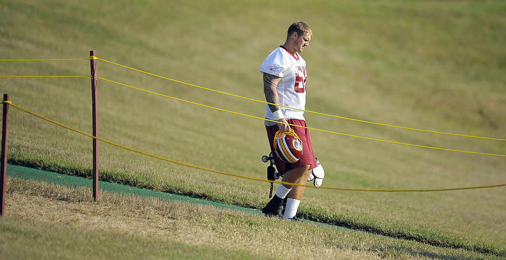 Former Washington Redskins lineman Clint Oldenburg appeared in two NFL games. Oldenburg's new football legacy is working on the Madden video games.