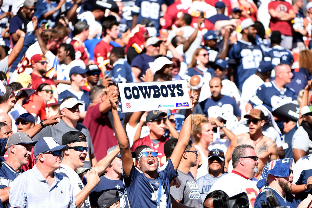 Dallas Cowboys fans are notoriously passionate. One sued the NFL for nearly $90 million after a Cowboys loss.