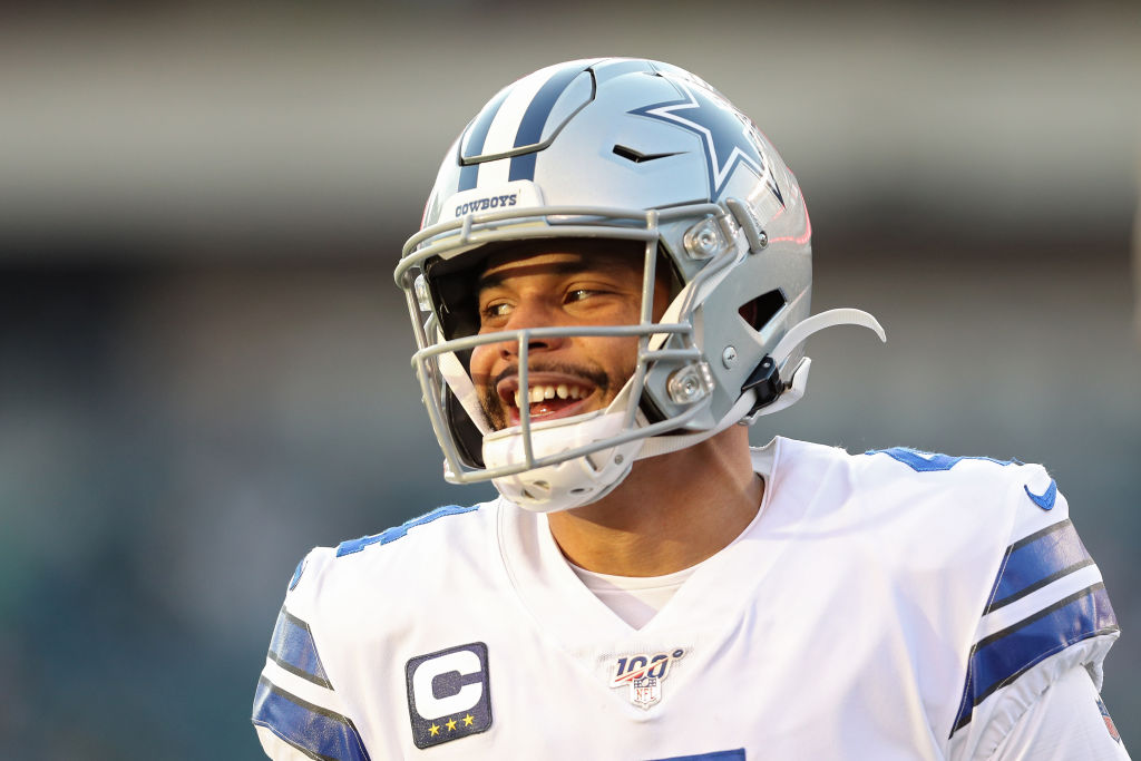 Dak Prescott has been a talented QB for the Dallas Cowboys. He has no fear, though, which he showed by facing a raccoon once.