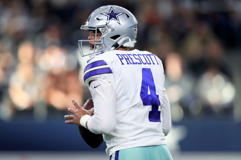 While Dak Prescott is waiting for a new contract with the Dallas Cowboys, Darren Woodson is optimistic.