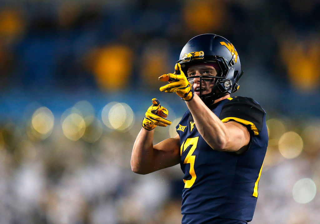 Former West Virginia wide receiver David Sills earned All-American honors in 2017. Sills once committed to play quarterback at USC when he was in middle school.