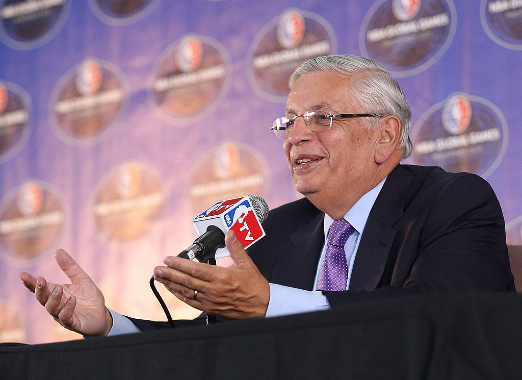 David Stern amassed a huge net worth before he died in January 2020.