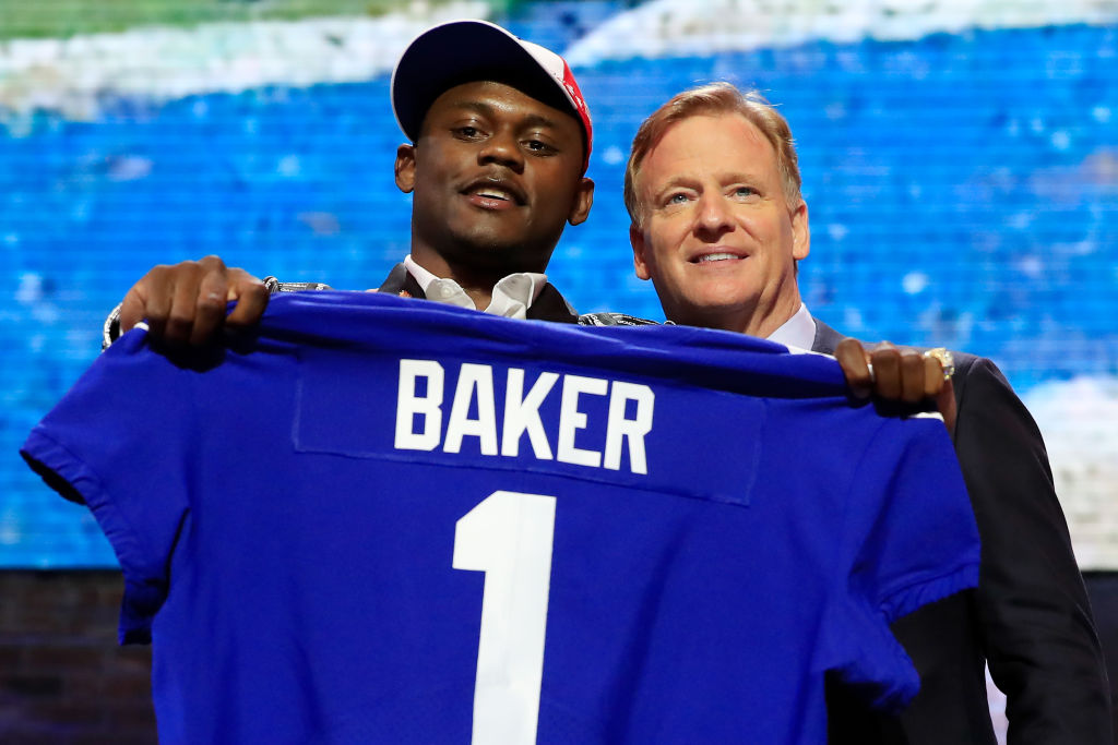 DeAndre Baker, New York Giants