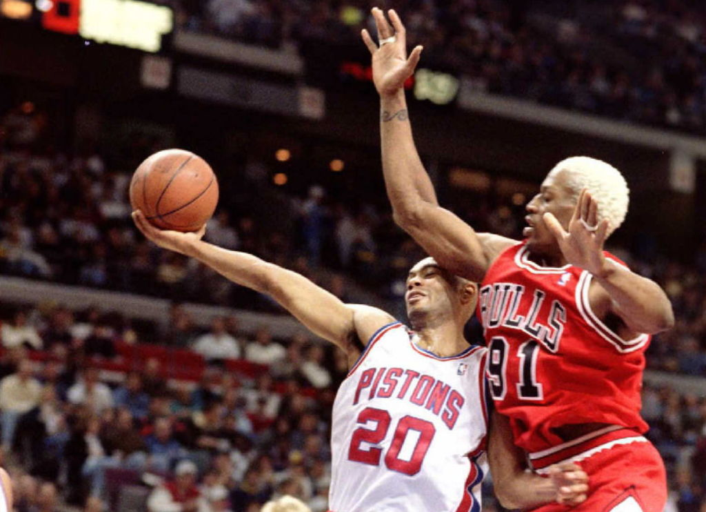How Dennis Rodman Helped Bubba Wells Make His Way Into the NBA Record Books
