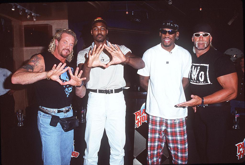 Dennis Rodman Karl Malone WCW