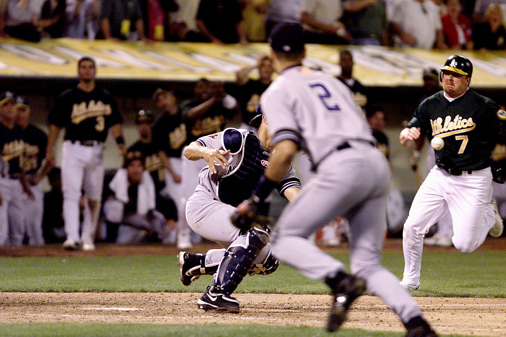 Derek Jeter's 'Flip' Against the Athletics Still One of the Best Defensive Plays Ever