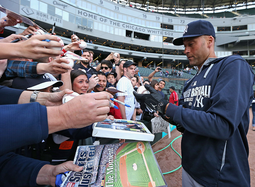 Derek Jeter's 8-Year-Old Signature Sold for an Obscene Amount of Money