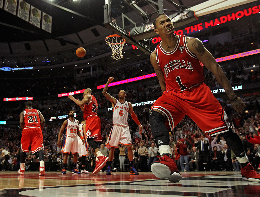 A Derrick Rose Reunion With the Chicago Bulls Isn't out of the Question