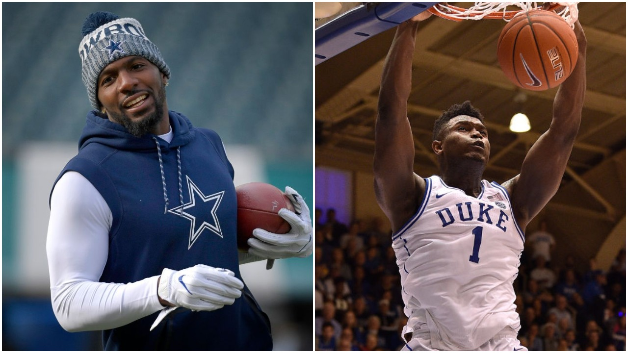 Big news recently came out regarding Zion Williamson's lawsuits with his former agent. Dez Bryant then gave his opinions on the situation.
