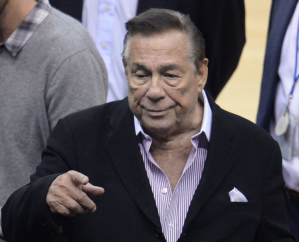 Former Clippers owner Donald Sterling