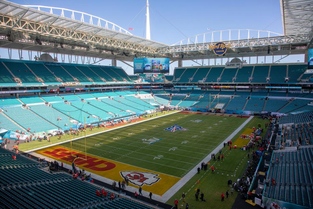 Empty NFL stadiums